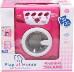 Big Deluxe Play at Home Pretend Play Battery Operated Toy Washing Machine Pla
