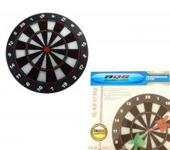 Safety Dart board Set with Soft Tip Darts for Kids adults Play Games 42CM