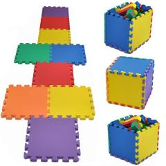10 Pieces Children Eva Foam Mats Colorful Kids Play Mat Play Room