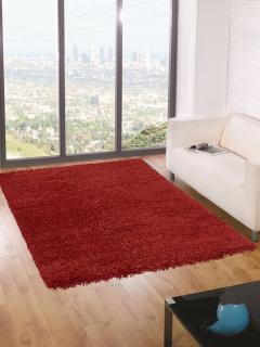 120 x 170cm Shaggy Rug 5cm Thick (Red)