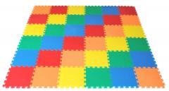 30 x 30cm Interlocking Multicolour Eva Soft Mat (30 SQ Feet)