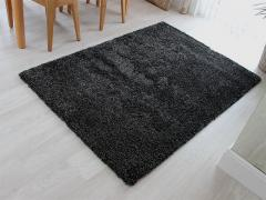 80 x 150cm Shaggy Rug 5cm Thick (Anthracite)