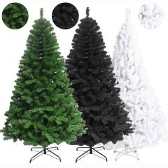 Artificial Pine Christmas Tree Spruce With Metal Stand Xmas Trees (180cm/1.8m/6f