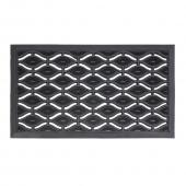 Attractive 40 x 70cm Ellipses Rubber Doormat