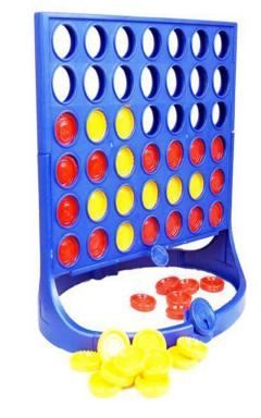 Children Kids Join Four Connect 4 in a Row Board Game Family  Toy Party Fun