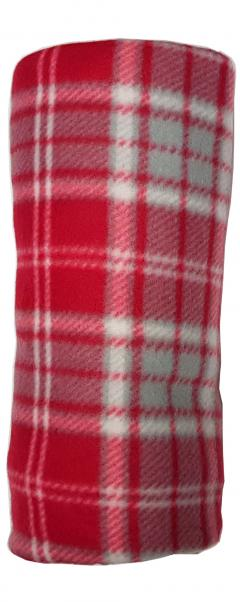 Festive Winter cosy classic Tartan Check Fleece Throw Blanket 120 X 150cm