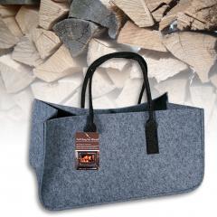 Fireplace Felt Shouder Bag With Handle