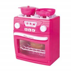 Girls Modern Electronic Toy Stove Playset Cooker Oven for Kids Using with Dolls,