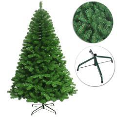 Green Artificial Christmas Tree Colorado Spruce Xmas Trees(210cm/2.1m/7ft)