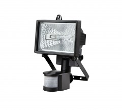 High Quality 120 Watt Halogen Flood Light With PIR (Motion Sensor)