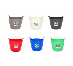 High Quality 25 Litre Medium Flexi Tub (Assorted Colours)
