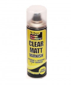 High Quality 250ml Clear Matt Varnish Spray Paint