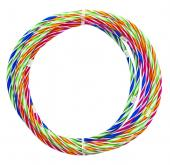 High Quality Stripes Hula Hoops