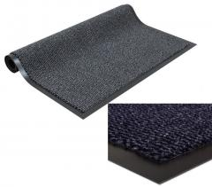 AQS Heavy Duty Rubber Barrier Mat Door Mat PVC Rubber Backed Barrier Mats (Anthr