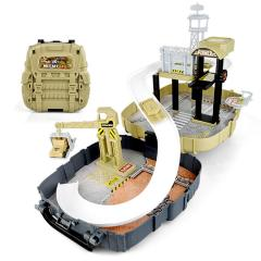 Kids Army Military Base Backpack Garage Set Ideal Christmas Toy Gift Little Sold