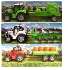 Kids Farm Tractor Tractor Toy Farm  Play Set Ideal Gift For Little Farmers