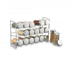 Modern 18 Jar Compact Spice Rack