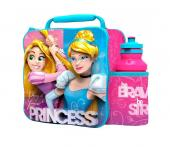 Modern 3D Lunch Bag With Bottle (Disney Princess)