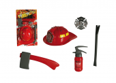 Modern Plastic Fire Fighter Outfit 5pc