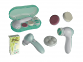 Modern Plastic Massager Skin Beauty With 4 Different Caps