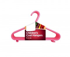 Newly Designed Children Plastic Coat Hangers (Pack Of 10)