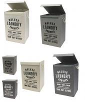 Stylish Designed 85 Liter Foldable Fabric laundry Hamper (Assorted)