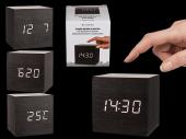 Stylish Plastic Digital Clock With Alarm (Cube) (6.5 x 6.5cm)